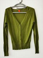 SKUNKFUNK Strickjacke Cardigan Gr.2 / S grün  ##LRZ1038