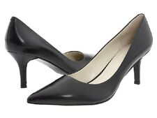 Nine West EverMoreo Black Patent Womens Shoes 7.5 M Wear-work PUMPS HEELS