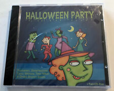 HALLOWEEN PARTY CD CD-ROM Ghostbusters Time Warp Scary Sounds Recipes