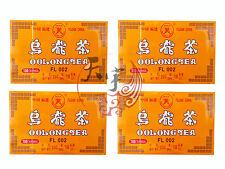 4 x China Oolong Tea Bags 100 Pcs - Great Chinese Oolong Tea Time At Work Break