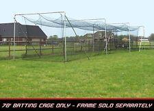 Cimarron CM-704242TP Softball / Baseball Batting Cage Net 70'x14'x12' with door