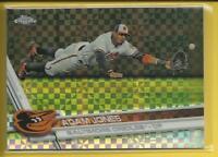 Adam Jones 2017 Topps Chrome XFRACTORS Card # 170 Mariners Orioles Baseball
