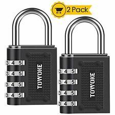 Combination Lock Locker Outdoor - Towoke Resettable Weatherproof Padlock 4-Digit