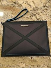 New KLM Airlines JANTAMINIAU Business Class Black Travel Amenity Pouch Bag