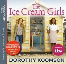 DOROTHY KOOMSON, THE ICE CREAM GIRLS 1 MP3 CD AUDIO BOOK TIME 14 HOURS APPROX
