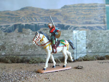 Medieval Italeri Saracen mounted with sword 1:32 painted