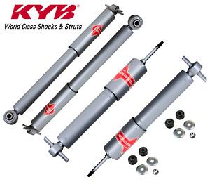 For Savana Express 1500 2003-2014 RWD Front & Rear Suspension KIT Shocks KYB