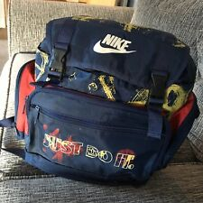 Vintage 1990's Nike Just Do It Backpack School Bag Good Condition