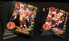 LARRY JOHNSON 1991-92 Wild Card LOT of  100 ROOKIE Cards # 1 & #24 UNLV HORNETS