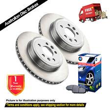 For TOYOTA Hilux KUN26 non VSC 297mm 03/05-06/10 FRONT Disc Rotors & Brake Pads