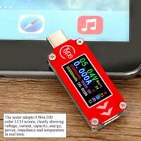 TC64 PD Charger Type-C Tester 0.96in LCD Multimeter Voltmeter Ammeter Detector