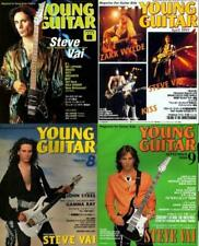 Steve Vai on Cover Lot of 4 Japan Magazines Rare! Young Guitar