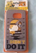 Handy Schutzhülle - Hardcover für Samsung Galaxy S6 Minions I didn't do it Neu!!