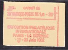 FRANCE CARNET 2154-C1 ** MNH carnet fermé, conf. N° 8, cote: 22  €  (L2)