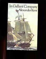 br - IN GALLANT COMPANY ,(Bolitho) Alexander Kent Signed ED. 1st UK  HB w/dj