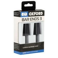 Oxford Black Bar Ends 3 Motorcycle Motorbike Handlebar Fits Standard 22 mm Bars