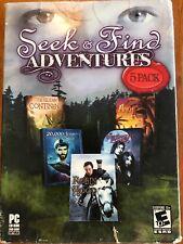 Video Game PC Seek & Find Adventures Robin Hood Immortal Lovers 20000 Leagues