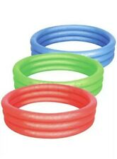 SWIMMING POOL INFLATEABLE 3RING POOL SPLASH AND PLAY ABOVE GROUND POOL KIDS POOL
