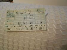 BOB DYLAN BOYLAN T. AUDITORIUM TICKET STUB-4/20/1997