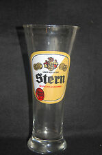 Stern Beer Glass - Uber 100 Jahre - 7 inches tall