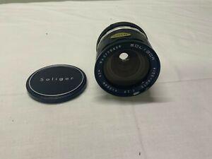 Soligor Wide Angle 1:2.8 f=28mm 62 Camera Lens