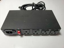 IP9258TP 4 puertos construido en el interruptor de alimentación de CA web Controlador Remoto reinicio automático Ping