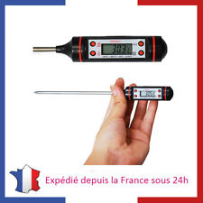 Thermomètre de Cuisine Digital Sonde Viande Gateaux Liquide Alimentaire Ecran