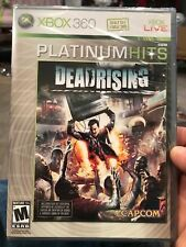 XBOX 360 ACTION HORROR GAME DEAD RISING ZOMBIES! Brand New Sealed