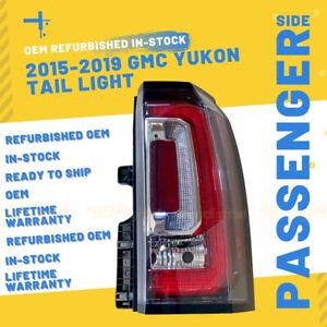 Rebuilt GMC Yukon, Yukon XL, Denali Passenger Tail Light 2015 2016 2017 2018 19