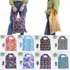 Reusable Foldable Ladies Shopping Bag Eco Flower Tote Handbag Folding Bag Chic