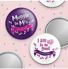 Up To No Good Personalised Pocket Mirror
