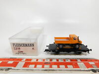 CG4-0, 5 #Fleischmann H0/Dc 5218 K Flat Wagon DB Nem With Wiking-Unimog, VG Box