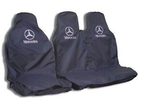 MERCEDES SPRINTER VAN SEAT COVERS -  WATERPROOF DRIVERS & PASSENGER DOUBLE