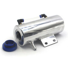 500ML Car Aluminium Polished Breather Oil Catch Tank Cooling Radiator water
