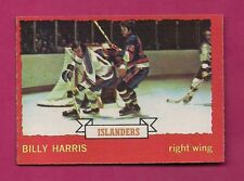 1973-74 OPC #  130 ISLANDERS BILLY HARRIS   ROOKIE  NRMT  CARD (INV#3453)
