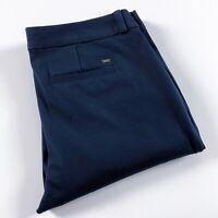 Tommy Hilfiger Women's Dress Pants Madison Stretch Slim Fit Navy Blue