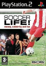 SOCCER LIFE MONEY CELEBRITY AND FUN PLAYSTATION 2 GAME PS 2 GIOCO USATO
