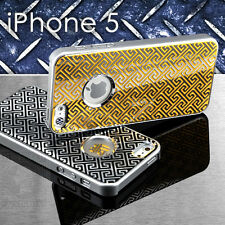 NEW Premium 3D Cutout Aluminium Metal Hybrid Case Cover For iPhone 5 5G 5TH GEN