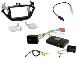 Connects2 CTKVX22 Vauxhall Corsa 2014 On Double Din Stereo Facia Fitting Kit
