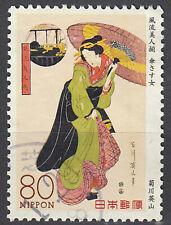 Japan gestempelt Geisha Kabuki Theater Schauspieler Tracht Tradition / 7179