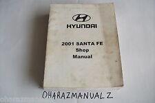 2001 HYUNDAI SANTA FE Shop Service Manual