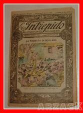 L'INTREPIDO Avventure Viaggi Esplorazioni Anno II N 58 - 2/1/1921 Picco Toselli