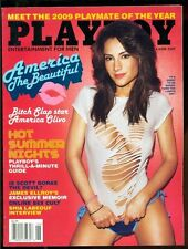 Playboy Magazine, June, 2009, Candice Cassidy, America Olivo, Shia Labeouf!