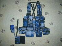 07's series China PLA Air Force Digital Camo Combat Tactical Vest,Set.