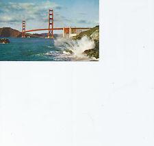 Golden Gate Bridge Marin County San Francisco CA    Chrome Postcard 41813