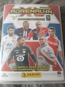 panini adrenalyn xl ligue1 2020-2021( lot de 100 cartes sans doubles)
