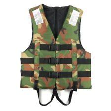 Adult Camouflage Buoyancy Life Jacket Vest Swimming Boat Water Safety Life Vest