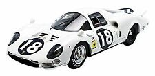 Ferrari 365 P2 White Elephant 24h Le Mans 1966 #18 Tecnomodel Bianco 1:18