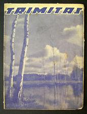 1939 Lithuanian Magazine/ Trimitas No. 17
