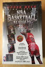 1992-93 Upper Deck Box NBA Basketball Card Box Unopened Wax Larry Bird New